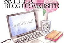 Blog / Setting up a blog, blog ideas, and blogging tips and tricks