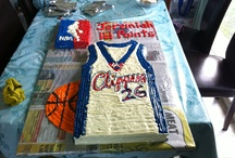 Clippers Singlet Birthday Cake