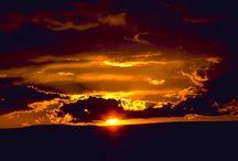 закаты / вечер и самые красивые закаты