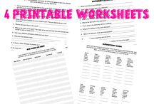 Educational worksheets for kids