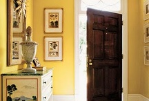 Mudrooms & Front Entry / Ideas for a grand entrance in the front & practical in the back