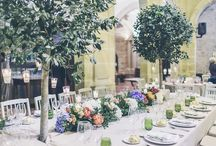mesas de boda
