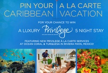 Pin Your A La Carte Caribbean Vacation For Your Chance to Win: / Win five nights at Ocean Coral & Turquesa featuring new Privilege A La Carte services by creating your own Ocean by H10 Hotels Caribbean A La Carte Vacation