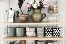 Pretty little shelves and things