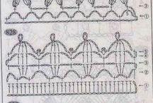 Bordes y Puntillas Crochet