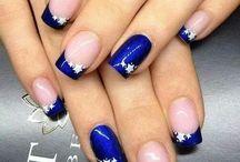 Νύχια μπλε