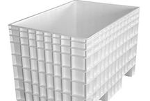 Bulk Bins / Bulk bins are made from FDA-approved plastics that make them ideal for food processing, agricultural, pharmaceutical and industrial applications. Engineered to meet USDA guidelines for sanitation and easy cleaning, bulk bins are durable, splinter-resistant, and light-weight. Reusable bulk bins have non-porous surfaces to limit abrasions and reduce the possibility of unwanted contaminants. Bulk bins come in a variety of sizes, able to suit nearly any industry's needs.