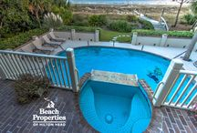PRETTY POOLS / When you rent a home through Beach Properties of Hilton Head you will have your very own pool to float around in.  Who will you be taking a dip with? PASS THE COPPERTONE ☀️