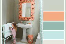Tynlees bathroom in new house / by Krystal Houston