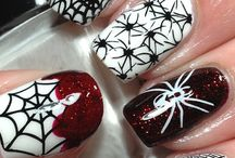 Halloween Nail Art / Inspirationail Halloween Nail Art Designs, Ideas and 'How to Do's'. Ghosts, Goblins and Spooks. Have fun with your nails this year during the horror season.