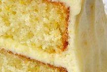 Lemon velvet cake