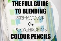 Adult colouring tips and techniques