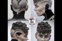 Slick Back Hairstyles