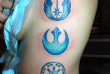 Star Wars Tats / by Keelia Cobb
