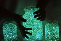frascos luminosos
