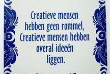 creatieve spreuk