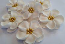 royal icing virágok