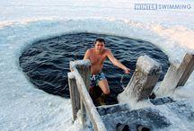 Winter Swimming, love it!!