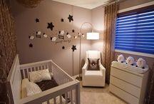 chambre bebe beige