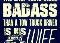 Life as a Tow truck wife