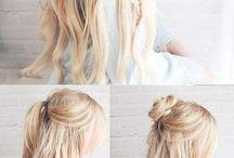 Coiffures❤ / Ce tableau conserne toutes les magnifiques coiffures que tu peux te faire❤