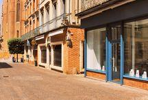 Boutique d'Albi / A l'ombre de la Cathédrale d'Albi, dans l'une de villes phare du Pays de Cocagne, venez découvrir notre boutique Graine de pastel pour une pause toute en douceur. Graine de pastel Albi, 38 rue Mariès 81000 Albi