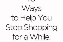 Save money, spend less