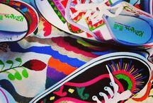 ¡Diseños artesanales! / Tenis con diseños únicos y exclusivos, bordados 100% a mano por artesanos mexicanos.