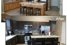 Before and after projects. Home improvement. / by Maisie Roub Allie
