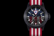 USA / Support USA national football team by wearing its watch from Twelv2! http://www.twelvewatch.com/