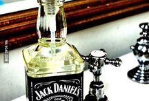 Jack Daniels Flasche