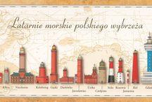 Latarnie morskie nad Bałtykiem w Polsce