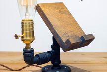 Luminária de mesa