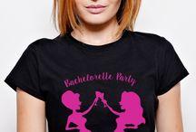 Tricouri Burlăcițe Ruvix / Petrecerea burlăcițelor este momentul în care viitoarea mireasă își adună fetele pentru o noapte nebună de distracție! Alegeți-vă tricourile preferate și lăsați lumea să știe că sunteți puse pe PETRECUT!