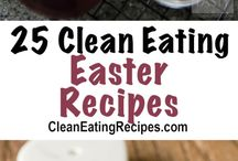 Best Clean Eating Easter Recipes / Here are the best clean eating Easter recipes. I have recipes for main dishes, side dishes, lots of desserts and a bunch of Easter candy recipes too
