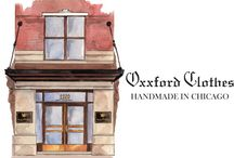 """Oxxford Clothes / Since 1916, the world's leading men have worn Oxxford for its elegance and character. Early on, gentlemen such as Clark Gable, Cary Grant, Walt Disney and Joe DiMaggio chose Oxxford, and to this day, Oxxford's client list reads like a """"Who's Who"""" of the world's gentlemen.  Today, men can still turn with full confidence to Oxxford Clothes, an institution which remains firmly committed to its original mission: tailoring the clothing by which all others are judged."""