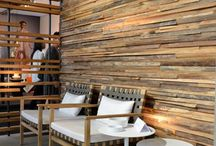 Wood wall decors