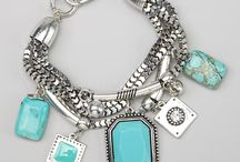 ilove Turquoise Jewelry / After a recent visit to New Mexico, I became obsessed with looking at all the turquoise jewelry.