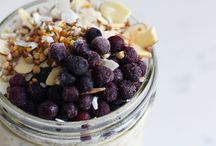 RECIPES :: Overnight Oats / Collection of overnight oat recipes