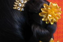 HAIRDOS !!!!! / Different kinds of easy hair styles created by my self ....... try it out itz fun.... it includes right from classic to modern day hairdos