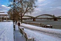 Köln in Winter