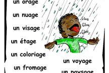 un peu de la laungue française