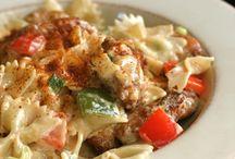 Shrimp/Shrimp pasta mhmmmm