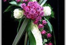 Funeral flower arangement