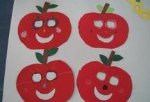 Fruit and vegetable crafts for preschoolers