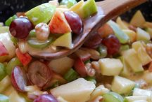 Salads (fruit/pasta/greens) / by Marie Brand