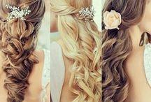 Hair and makeup / Inspirisasjon til hår, sminke og negler