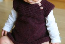 Knitting pattern for babies
