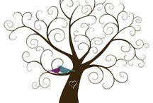 árbol huellas
