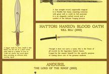 espadas y armaduras